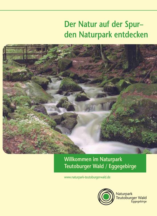 Teaserbild Flyer Naturpark Teutoburgerwald / Eggegebirge