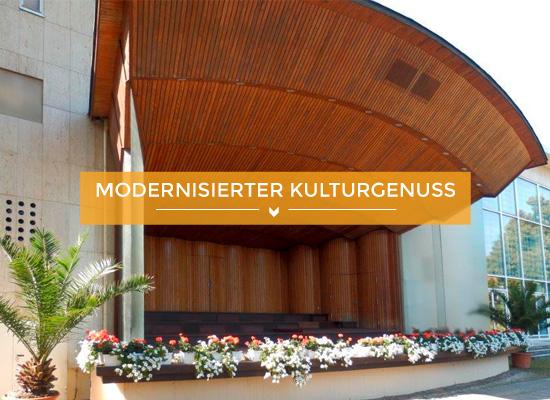 Teaserbild modernisierter Kulturgenuss