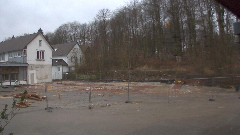 Bild der Baustellenkamera vom 20.02.2015 um 17:23 Uhr