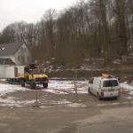 Bild der Baustellenkamera vom 26.02.2015 um 08:33 Uhr