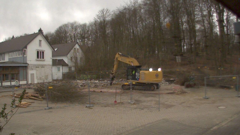 Bild der Baustellenkamera vom 02.03.2015 um 17:25 Uhr