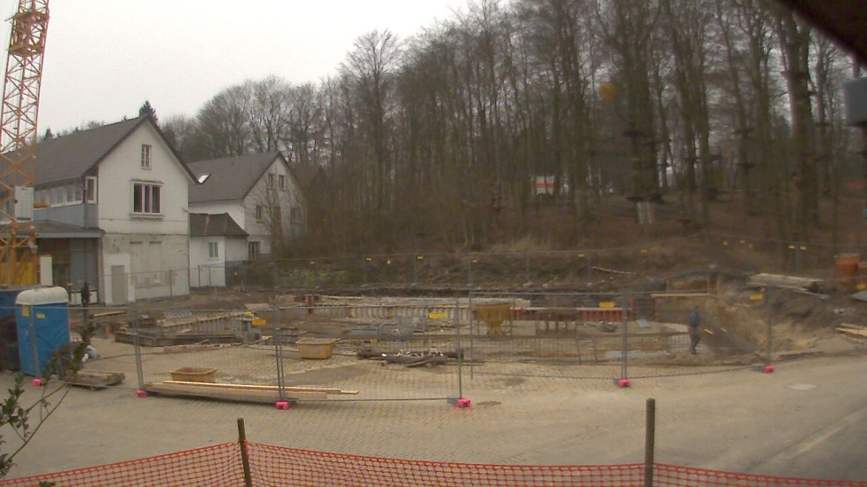 Bild der Baustellenkamera vom 14.03.2015 um 08:05 Uhr
