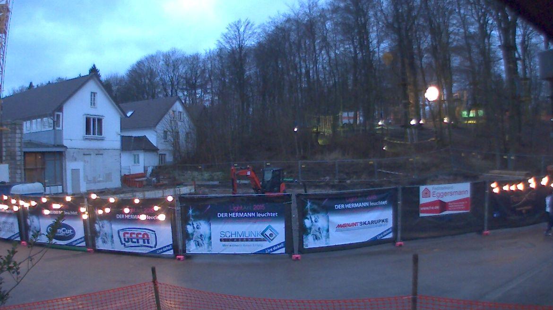 Bild der Baustellenkamera vom 21.03.2015 um 18:45 Uhr
