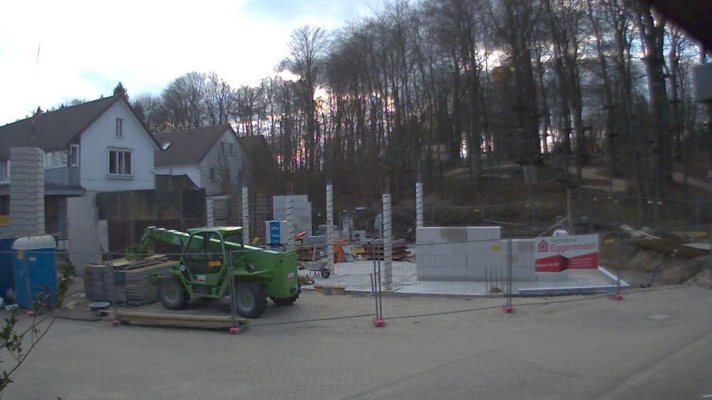 Bild der Baustellenkamera vom 05.04.2015 um 18:25 Uhr