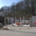 Bild der Baustellenkamera vom 10.04.2015 um 14:55 Uhr