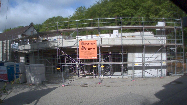 Bild der Baustellenkamera vom 10.05.2015 um 09:15 Uhr