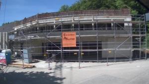 Bild der Baustellenkamera vom 07.06.2015 um 12:15 Uhr