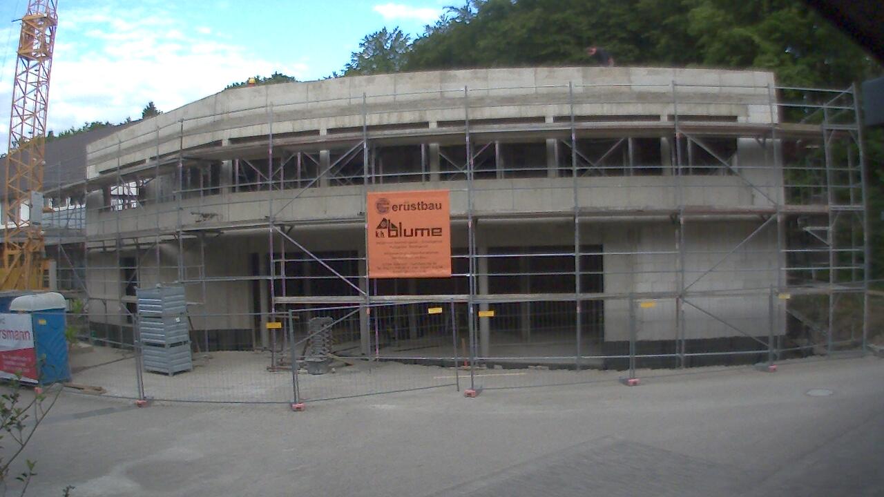Bild der Baustellenkamera vom 10.06.2015 um 07:25 Uhr
