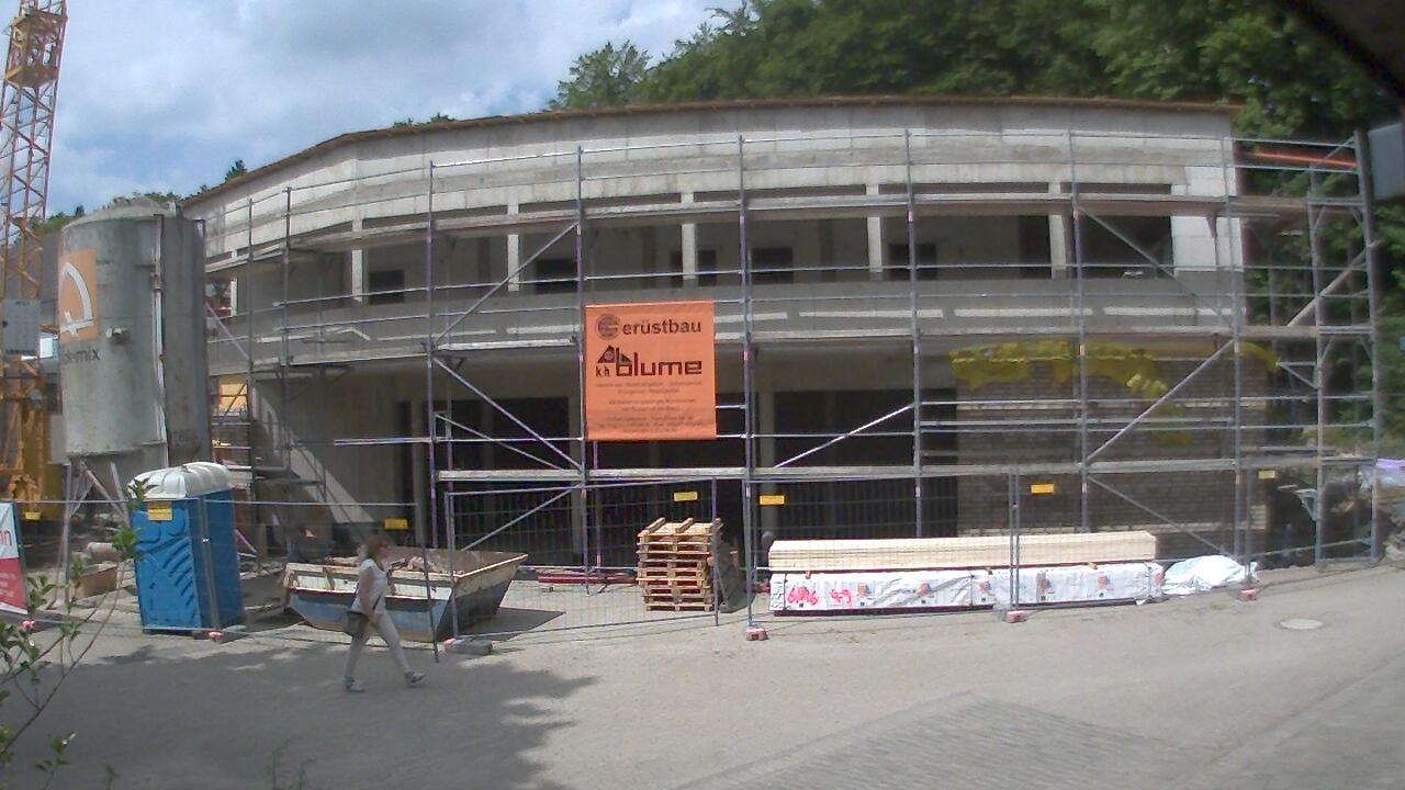 Bild der Baustellenkamera vom 29.06.2015 um 11:55 Uhr