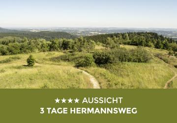 Teaserbild Aussicht - 3 Tage Hermannsweg