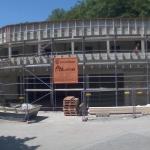 Bild der Baustellenkamera vom 02.07.2015 um 09:55 Uhr