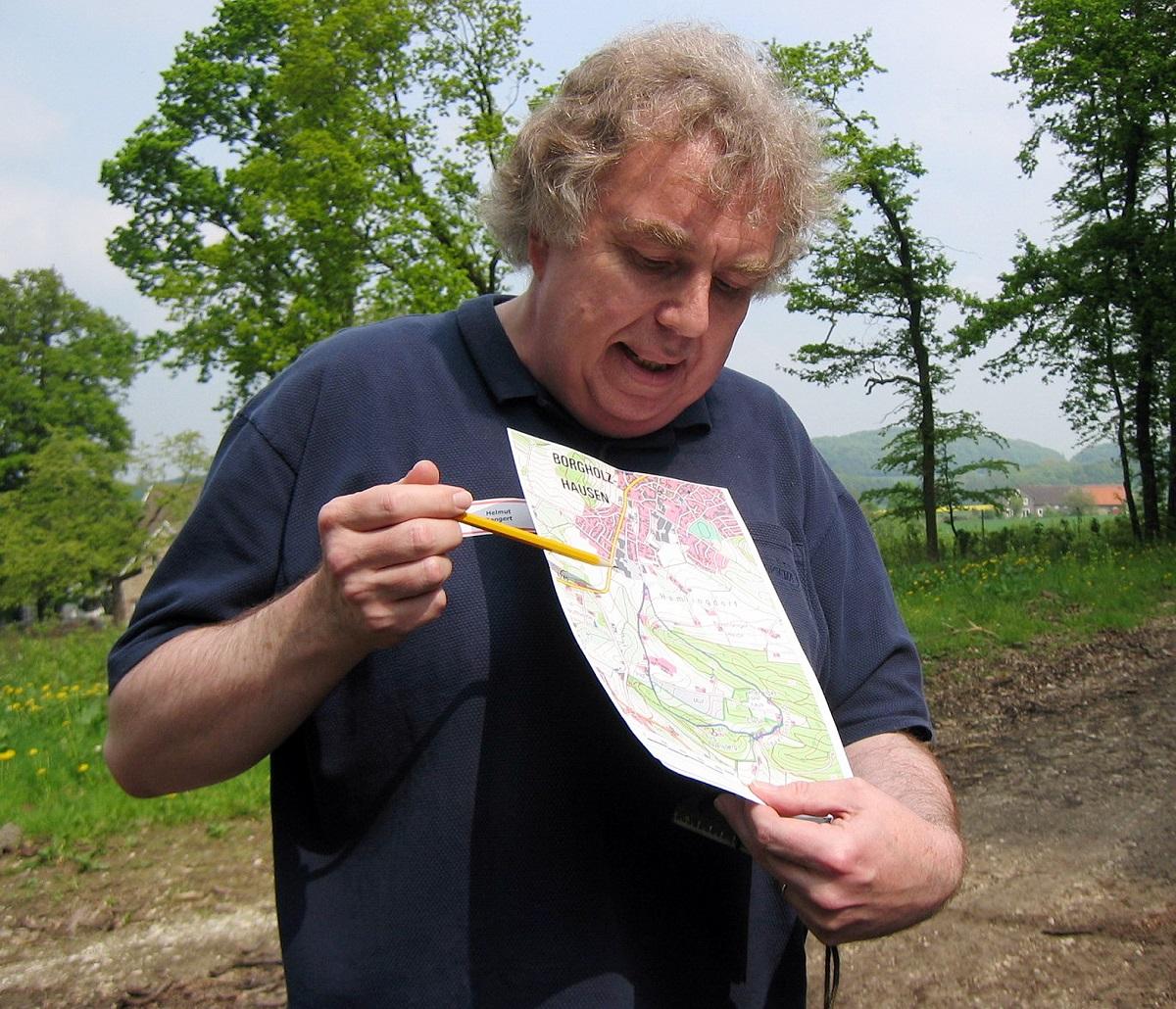 Wegewart Helmut Bangert