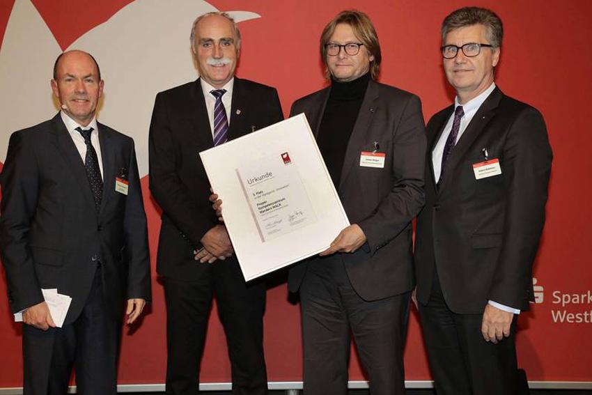 Preisverleihung Tourismuspreis des Sparkassenverbandes Westfalen Lippe