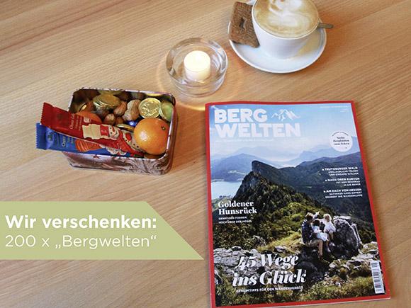 Bergwelten Magazin als WALK Geschenkaktion