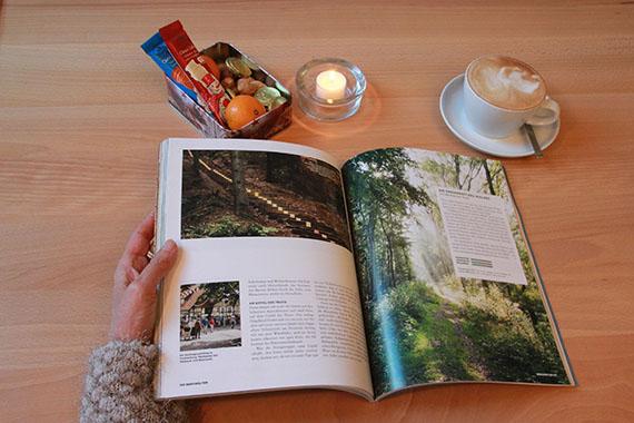 WALK Geschenkaktion: Bergwelten Magazin aufgeschlagen