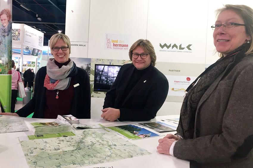 Kompetenzzentrum Wandern WALK auf der Vakantjebeurs in Utrecht