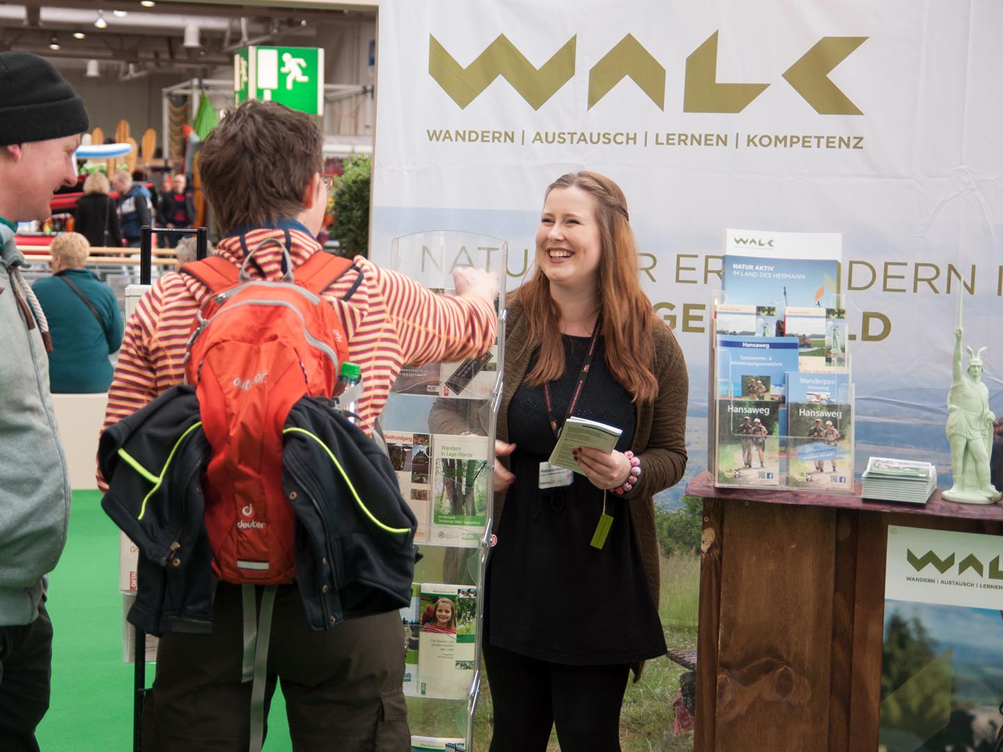 WALK Messestand